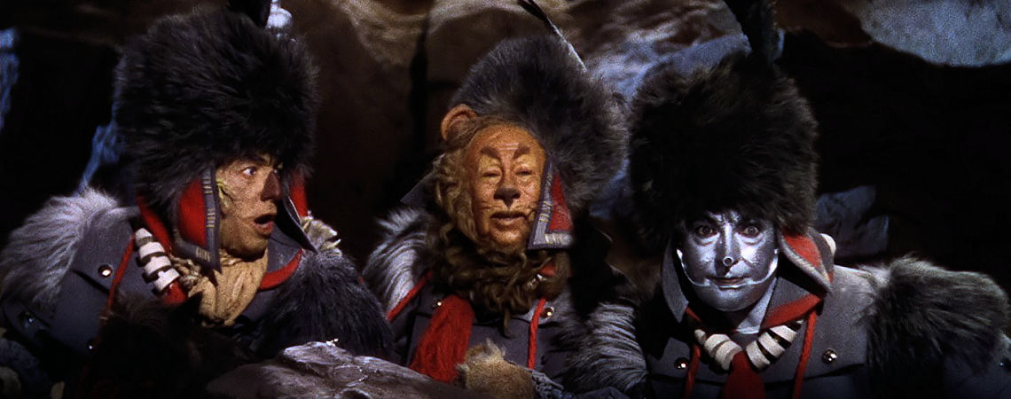 "Ray Bolger, Jack Haley, Bert Lahr | ""The Wizard Oz"" (1939)"