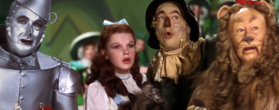 "Judy Garland, Jack Haley, Ray Bolger, Bert Lahr | ""The Wizard of Oz"" (1939)"