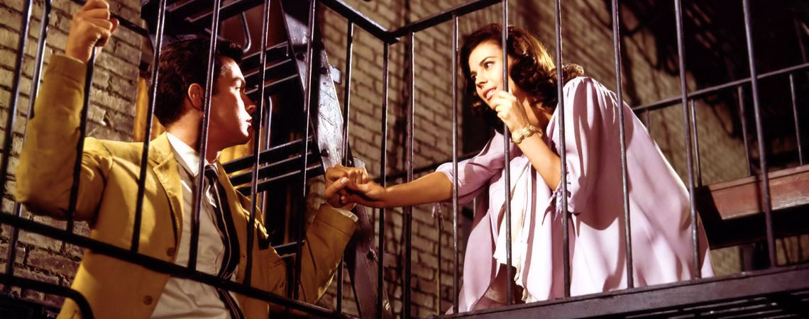 "Richard Beymer & Natalie Wood | ""West Side Story"" (1961)"