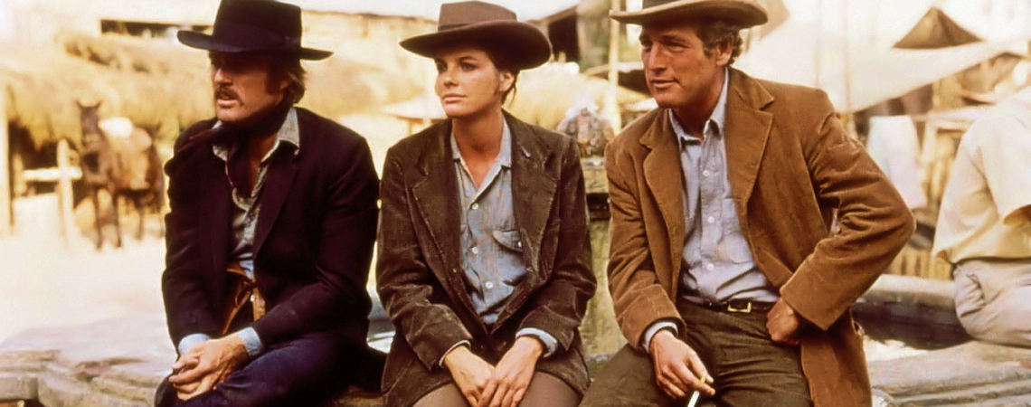 "Robert Redford, Katherine Ross, Paul Newman | ""Butch Cassidy And The Sundance Kid"" (1969)"