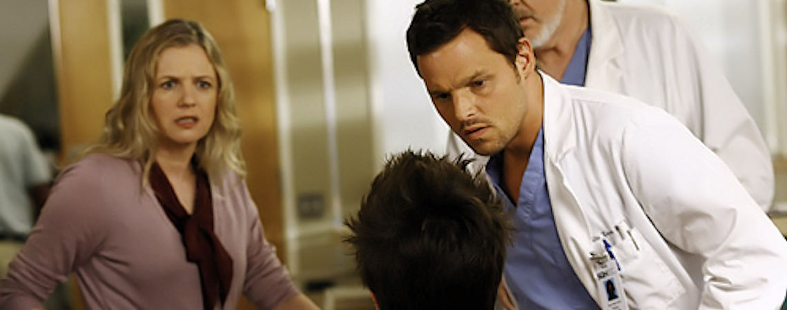 "Eve Gordon, Justin Chambers | ""Greys Anatomy"" (2007)"