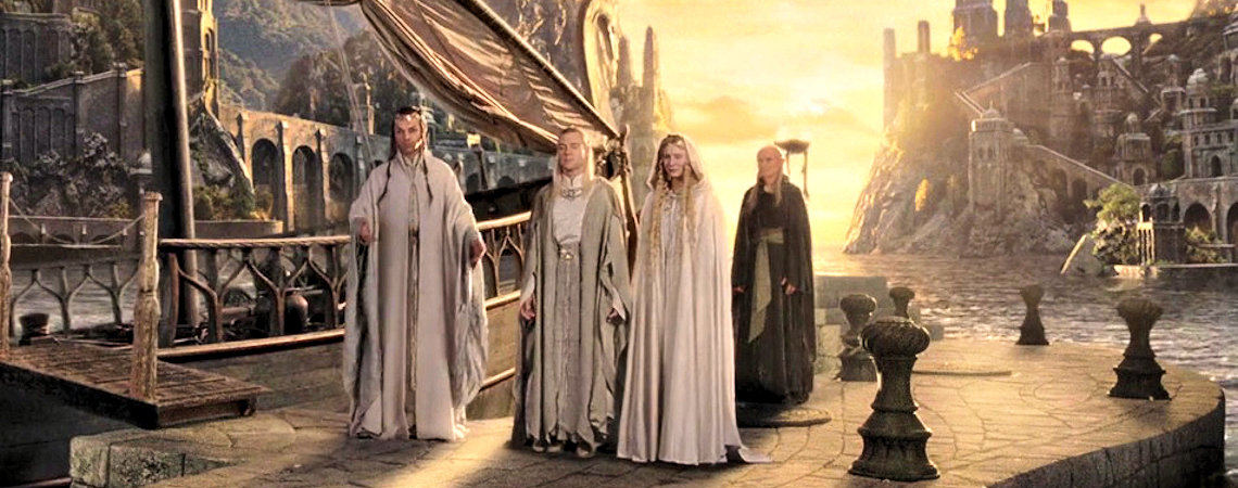 "Cate Blanchett, Marton Csokas, Hugo Weaving, Michael Elsworth | ""The Lord of the Rings: The Return of the King"" (2003)"