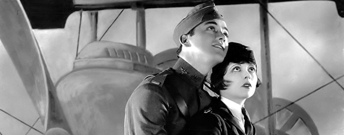 "Clara Bow, Charles 'Buddy' Rogers | ""Wings"" (1927) *"