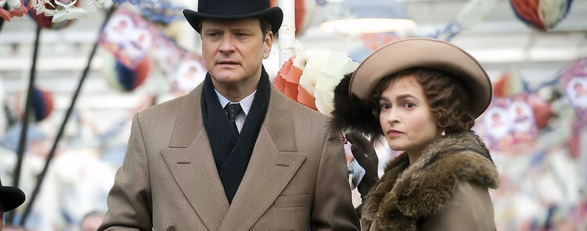 "Colin Firth, Helena Bonham Carter | ""The King's Speech"" (2010)"