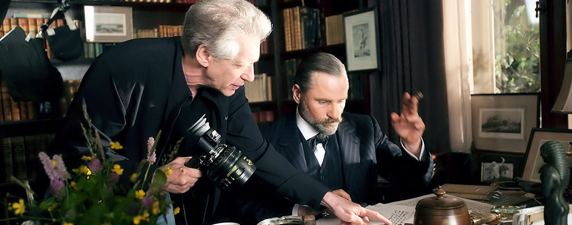 "David Cronenberg, Viggo Mortensen | ""A Dangerous Method"" (2011)"