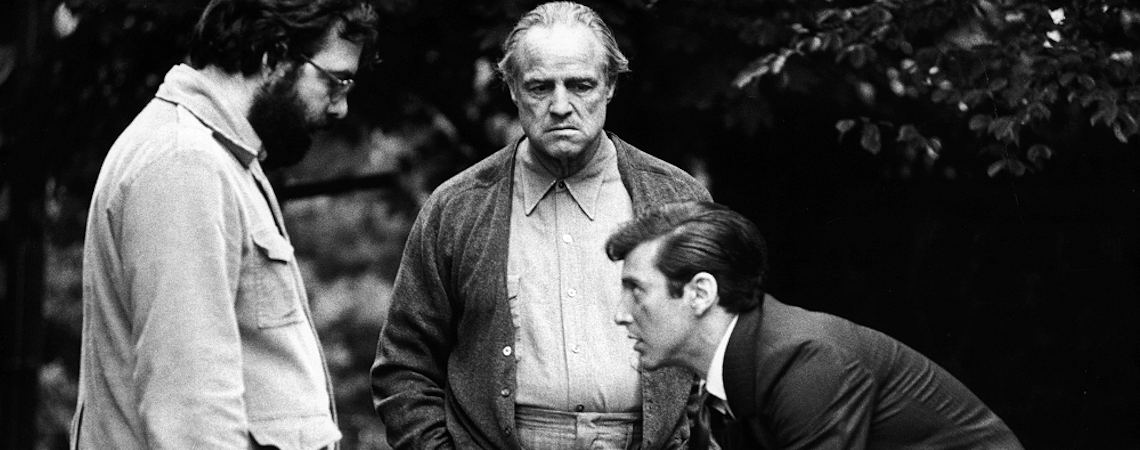 "Francis Ford Coppola, Marlon Brando, Al Pacino | ""The Godfather"" (1972)"