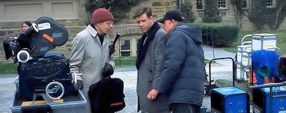 "Ron Howard, Russell Crowe, John Nash | ""A Beautiful Mind"" (2001) *"