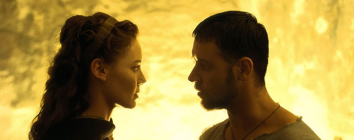 "Connie Nielsen, Russell Crowe  | ""Gladiator"" (2000) *"