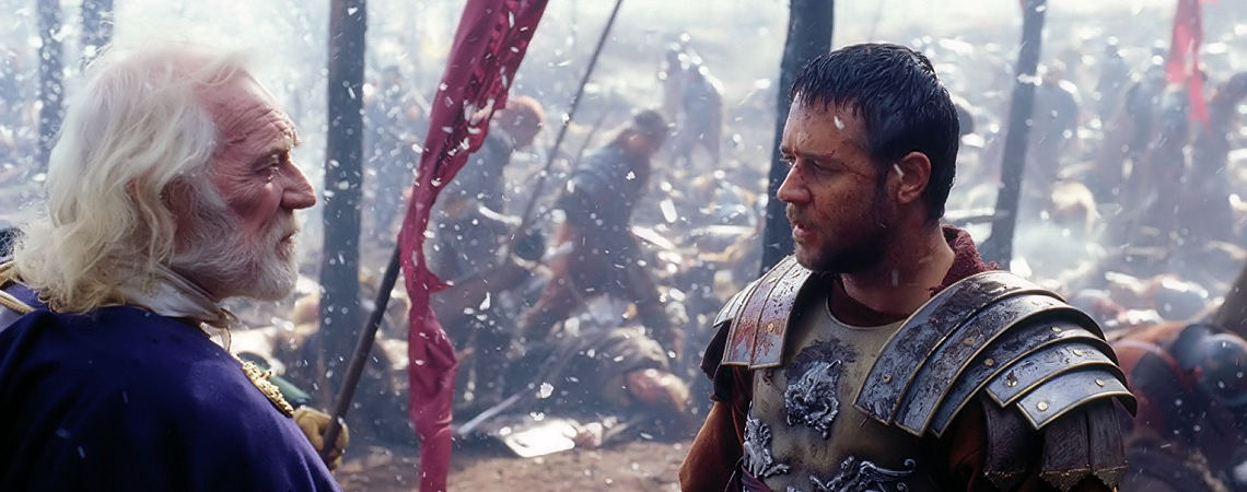 "Russell Crowe, Richard Harris | ""Gladiator"" (2000)"