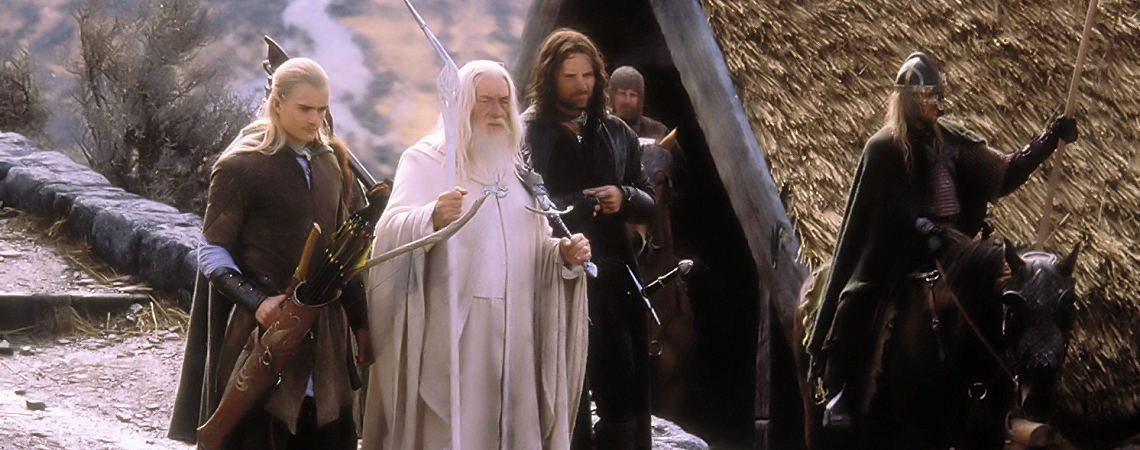 "Viggo Mortensen, Ian McKellen, Orlando Bloom | ""The Lord of the Rings: The Return of the King"" (2003) *"