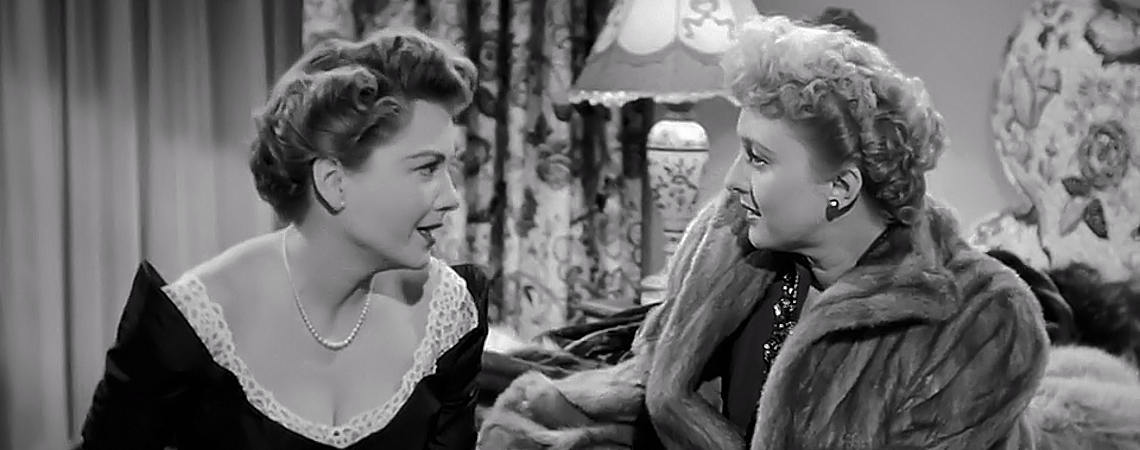 "Anne Baxter, Celeste Holm | ""All About Eve"" (1950)"