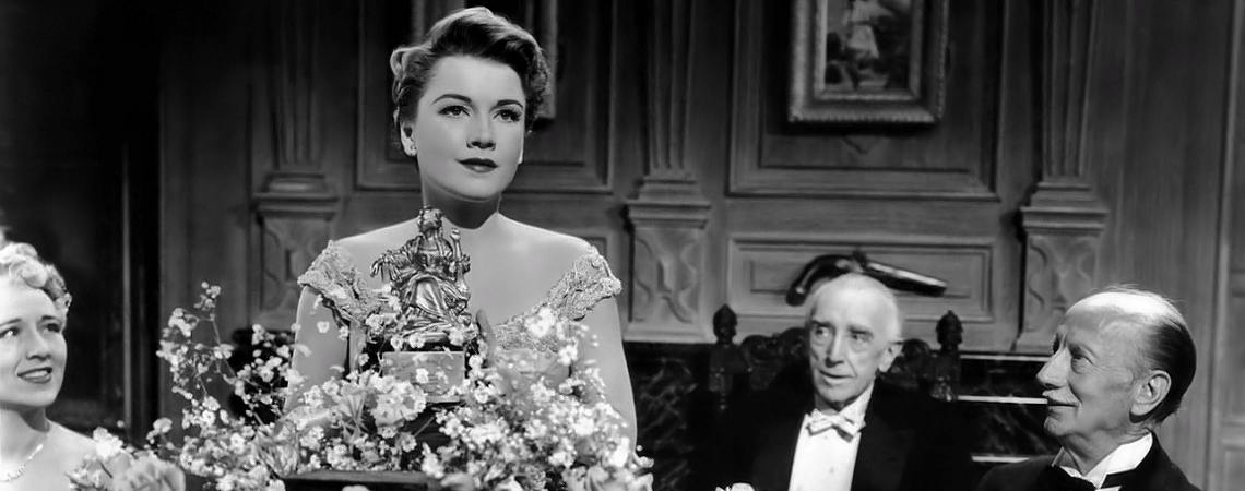 "Anne Baxter, Walter Hampden | ""All About Eve"" (1950)"