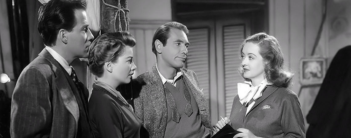 "Bette Davis, Anne Baxter, Hugh Marlowe, Gary Merrill | ""All About Eve"" (1950)"