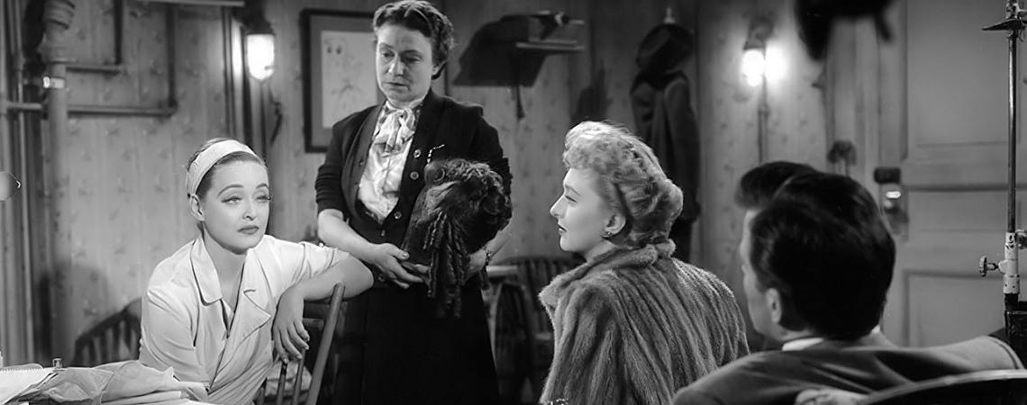 "Bette Davis, Celeset Holm, Hugh Marlowe, Thelma Ritter | ""All About Eve"" (1950) *"