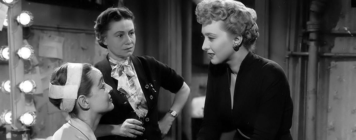 "Bette Davis, Celeset Holm, Thelma Ritter | ""All About Eve"" (1950) *"