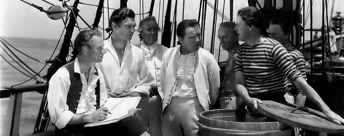 "Clark Gable, Charles Laughton, Ian Wolfe | ""Mutiny on the Bounty"" (1935) *"