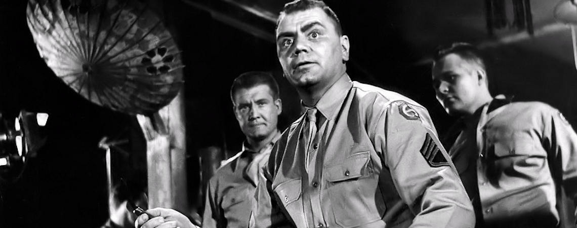 "George Reeves, Ernest Borgnine | ""From Here to Eternity"" (1953)"