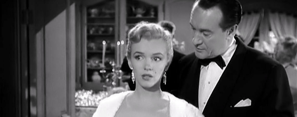 "Marilyn Monroe, George Stevens | ""All About Eve"" (1950)"