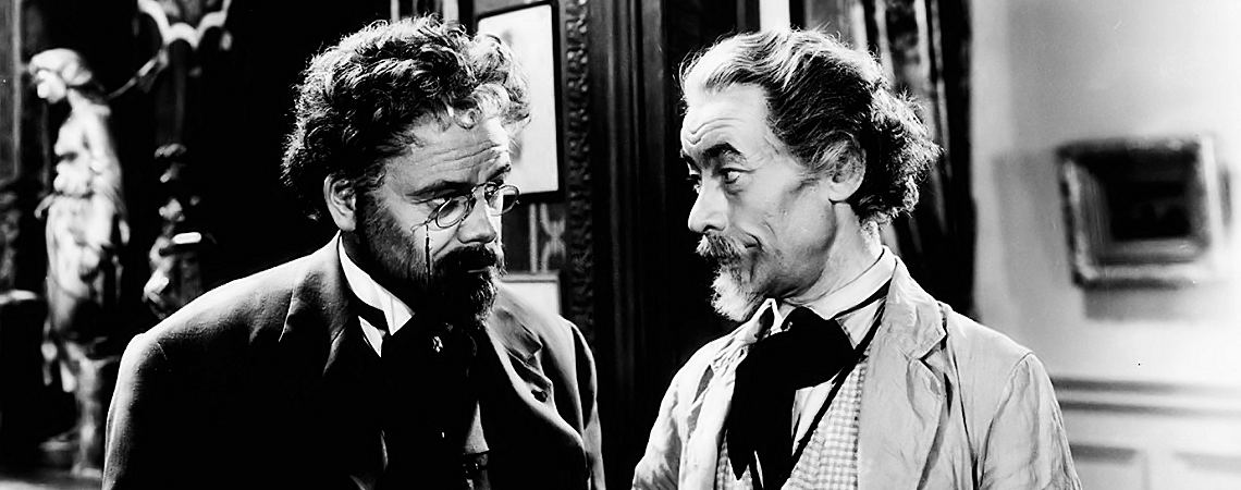 "Paul Muni, Vladimir Sokoloff | ""The Life of Emile Zola"" (1937) *"