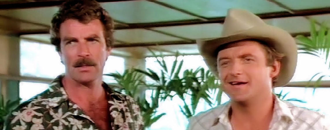 "Tom Selleck, James Whitmore Jr, | ""Magnum PI"" (1981-1982)"