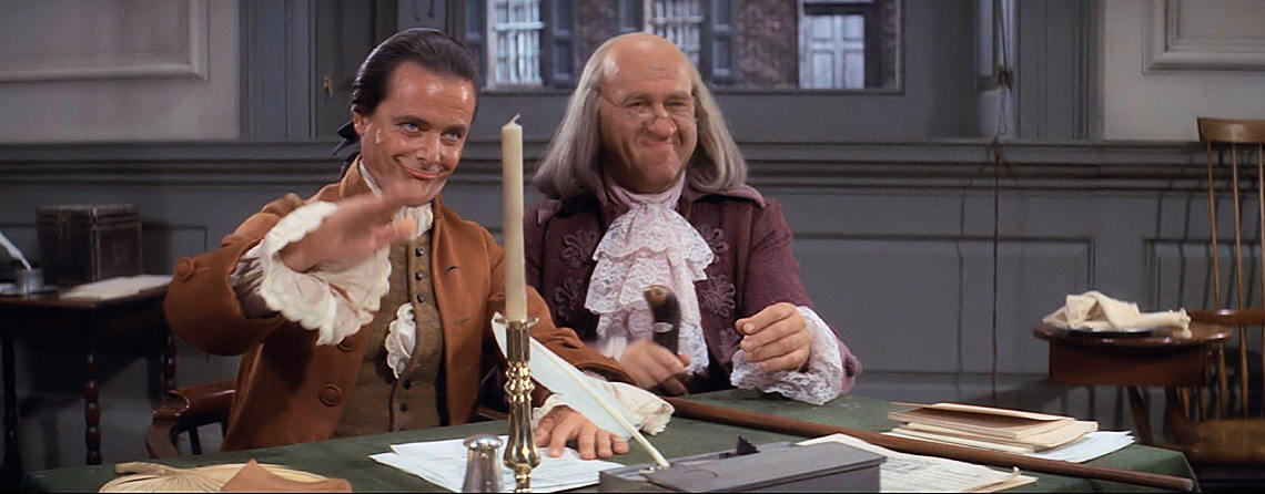 "William Daniels, Howard Da Silva | ""1776"" (1972)  *"