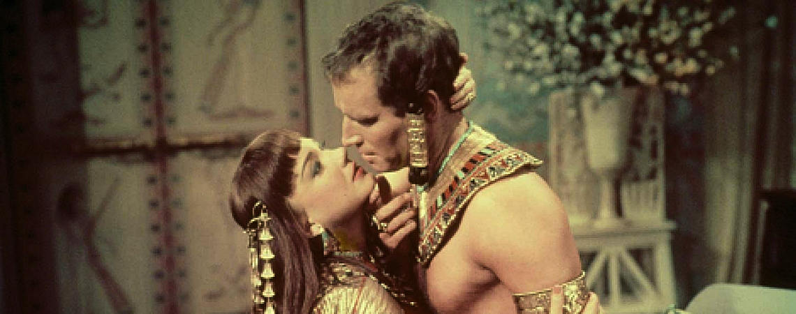 "Anne Baxter, Charlton Heston | ""The Ten Commandments"" (1956) *"