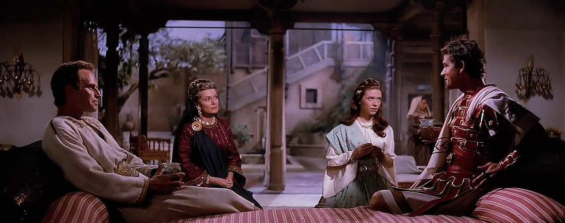 "Charlton Heston Martha Scott, Cathy O'Donnell, Stephen Boyd | ""Ben Hur"" (1959)"