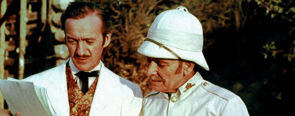 "David Niven, Ronald Coleman | ""Around the World in 80 Days"" (1956) *"