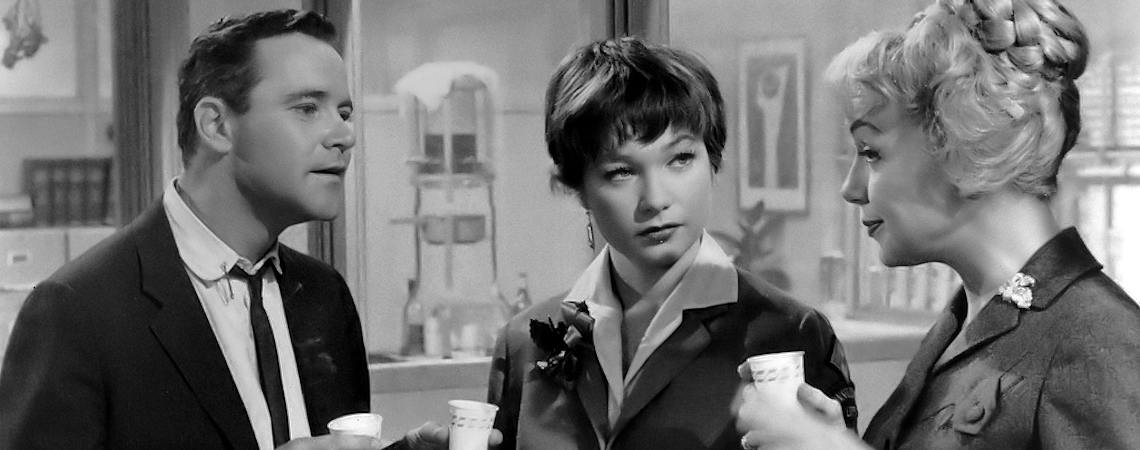 "Jack Lemmon, Shirley MacLaine, Edie Adams | ""The Apartment"" (1960) *"