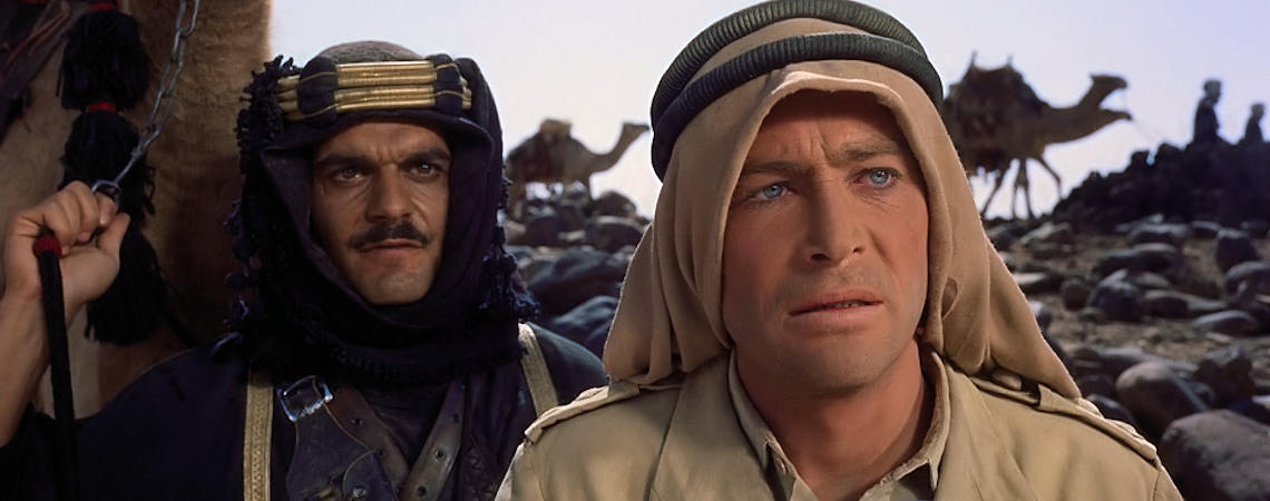 "Omar Sharif,  Peter O'Toole | ""Lawrence of Arabia"" (1962)"
