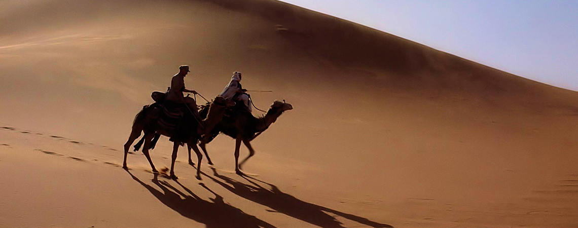"Peter O'Toole, Zia Mohyeddin | ""Lawrence of Arabia"" (1962)"