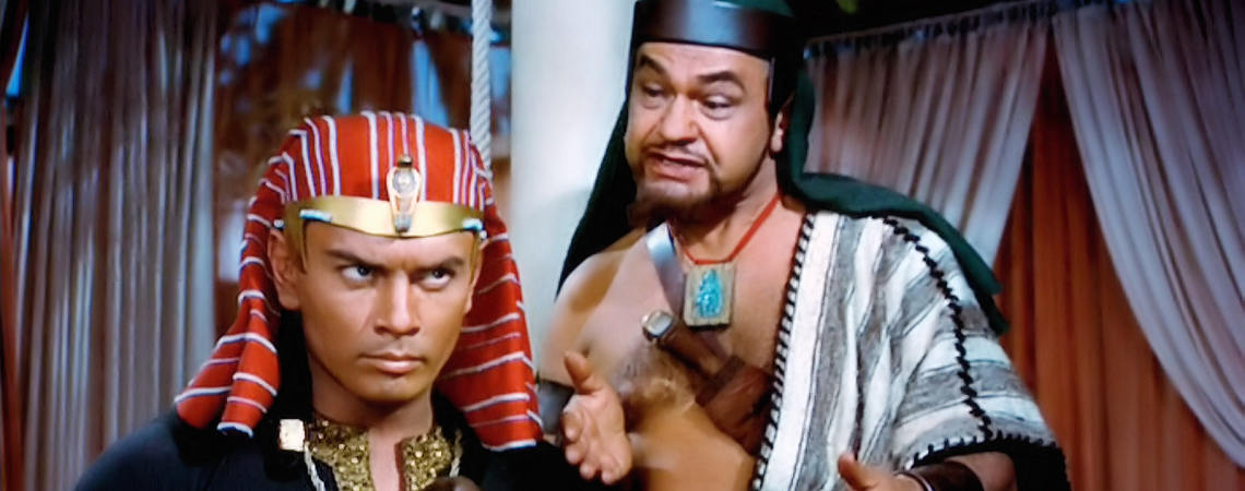 "Yul Brynner, Edward G. Robinson | ""The Ten Commandments"" (1956)"