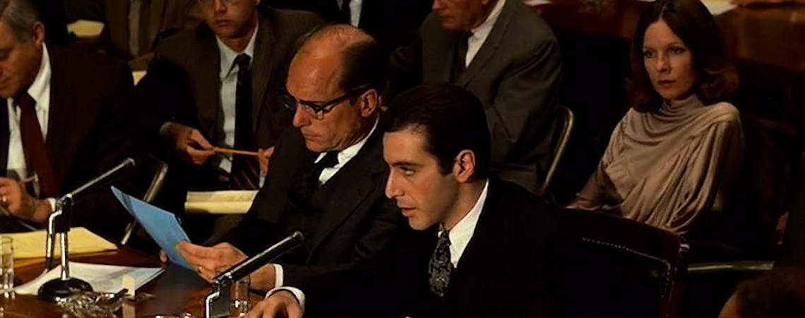 "Al Pacino, Robert Duvall, Diane Keaton | ""The Godfather Part II"" (1974)"