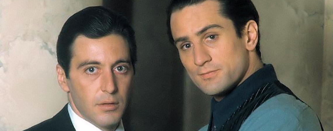 "Al Pacino, Robert De Niro | ""The Godfather Part II"" (1974)"