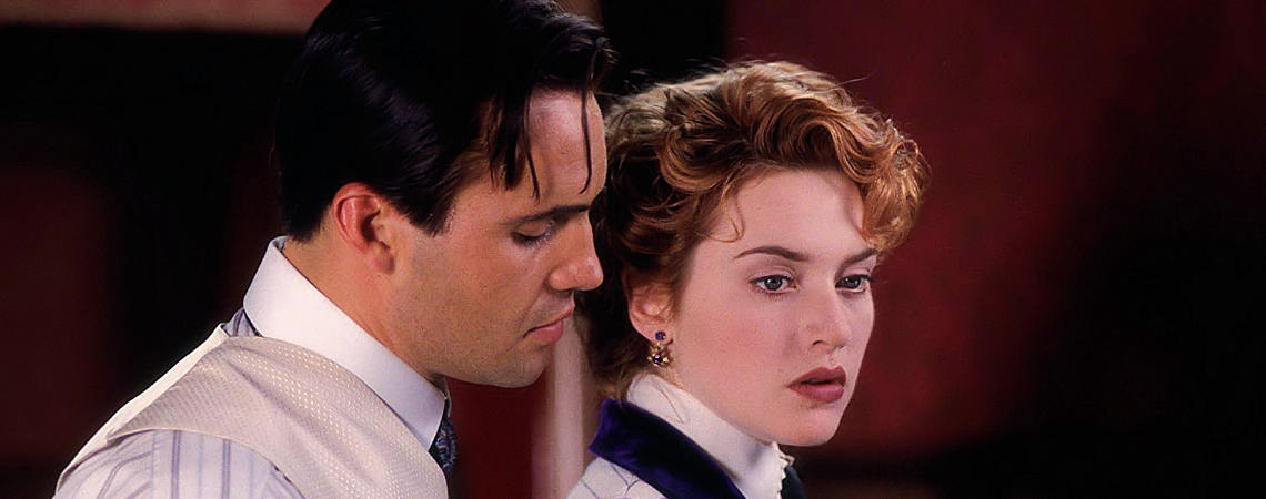 "Billy Zane, Kate Winslet | ""Titanic"" (1997) *"