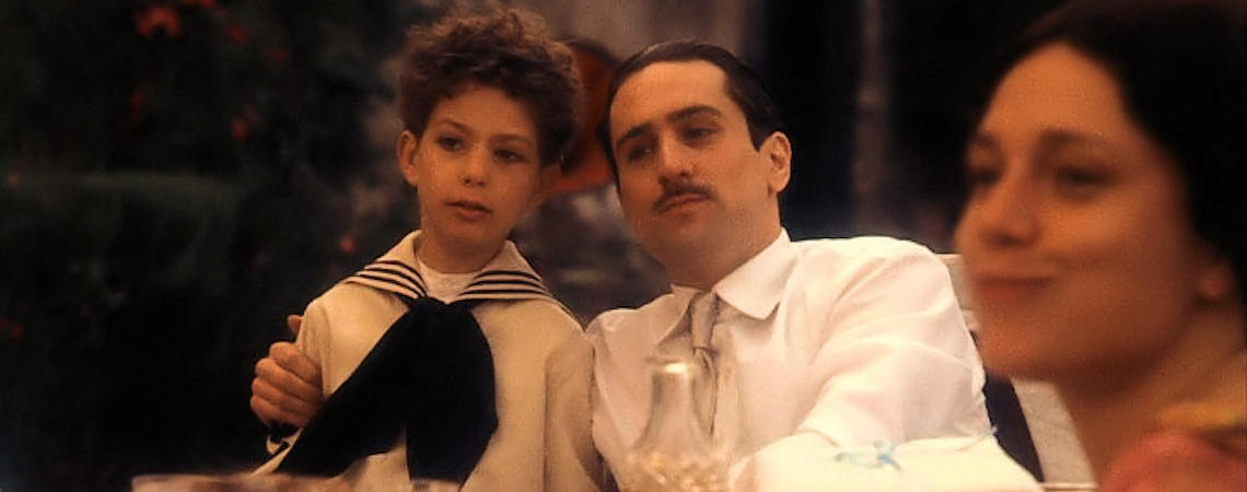 "Francesca De Sapio, Robert De Niro | ""The Godfather Part II"" (1974)"