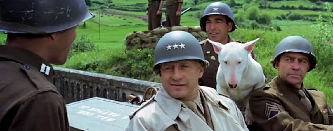 "George C. Scott, Paul Stevens, Bill Hickman | ""Patton"" (1970)"