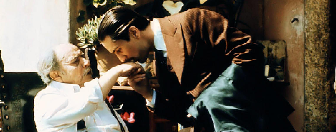 "Giuseppe Sillato, Robert De Niro | ""The Godfather Part II"" (1974) *"