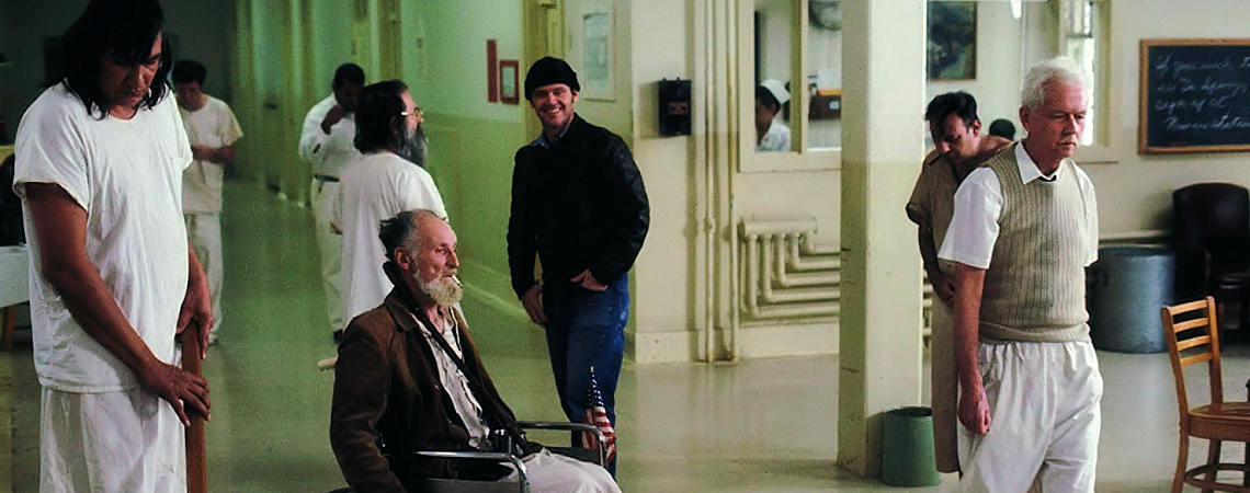 "Jack Nicholson, Peter Brocco, Will Sampson, Delos V. Smith Jr. | ""One Flew Over the Cuckoo's Nest"" (1975) *"