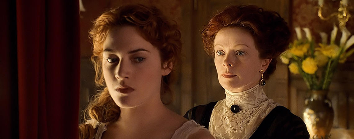 "Kate Winslet, Frances Fisher | ""Titanic"" (1997) *"