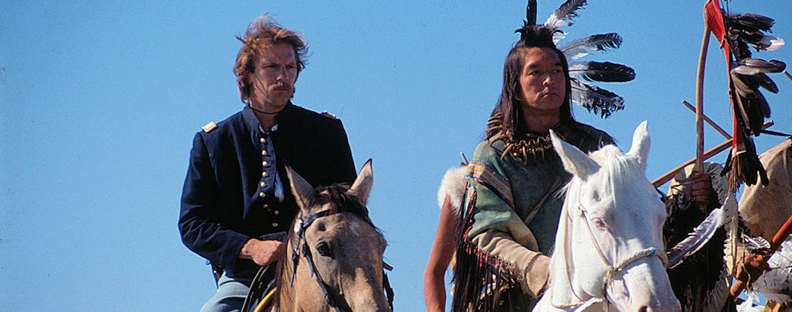 "Kevin Costner, Graham Greene | ""Dances with Wolves"" (1990) *"