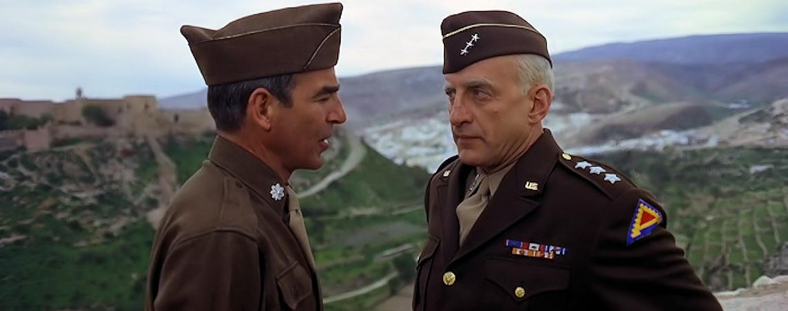 "Paul Stevens, George C. Scott | ""Patton"" (1970)"