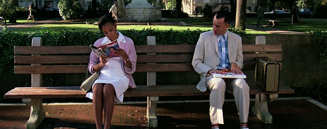 "Rebecca Williams, Tom Hanks | ""Forrest Gump"" (1994)"