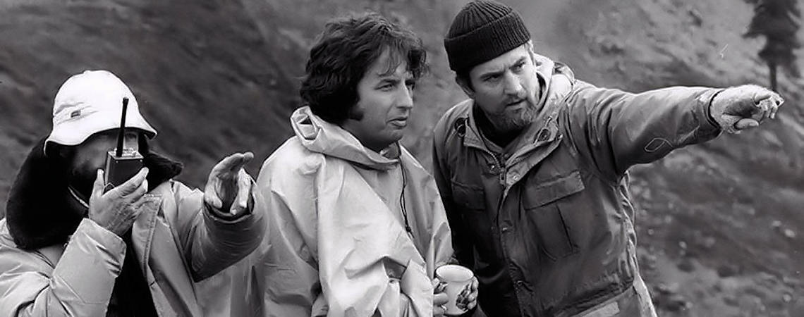 "Vilmos Zsigmond, Robert De Niro, Michael Cimino | ""The Deer Hunter"" (1978)"