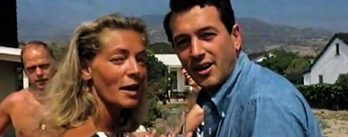 Lauren Bacall, Rock Hudson | Malibu Party Home Movies (1965)