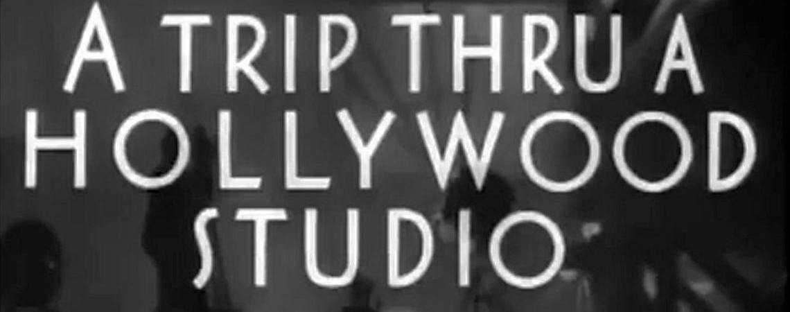 A Trip through a Hollywood Studio (1935)