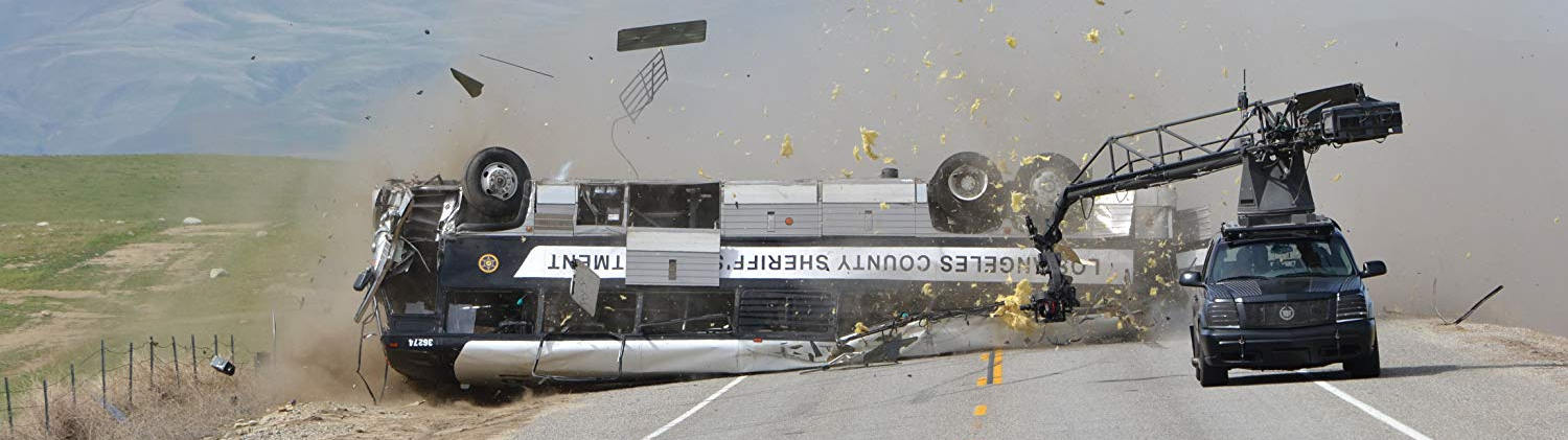 Corey Eubanks crashes bus in Fast 5