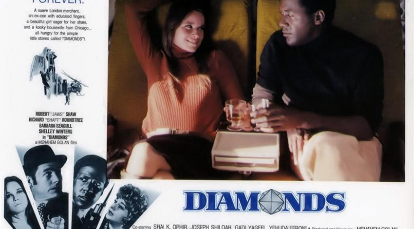 "Richard Roundtree w/Barbara Hershey | ""Diamonds"" (1975)"