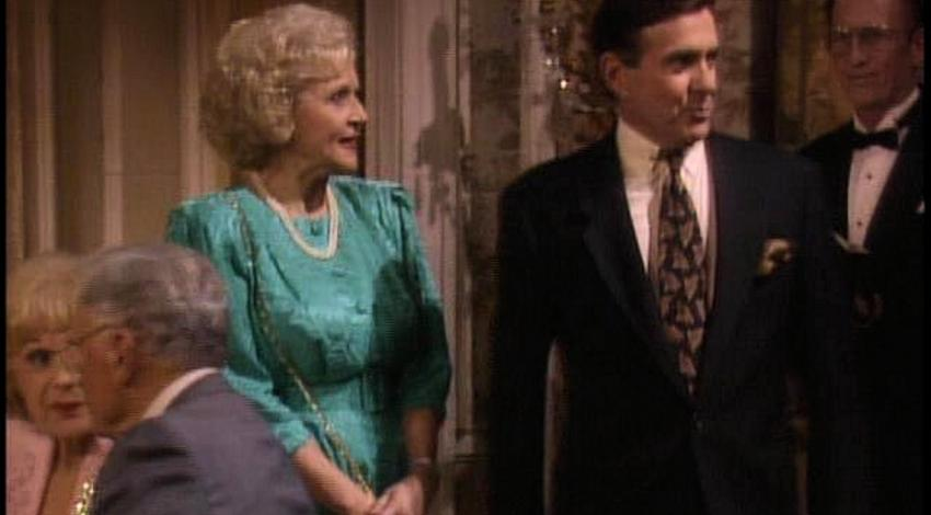 "Pat Harrington w/Betty White | ""The Golden Girls"" (1981)"