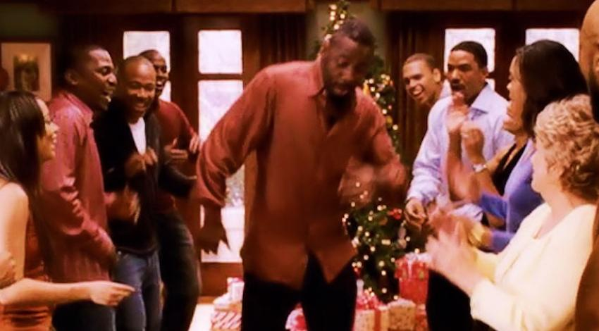 "Idris Elba in the Dance Line | ""This Christmas"" (2007)"